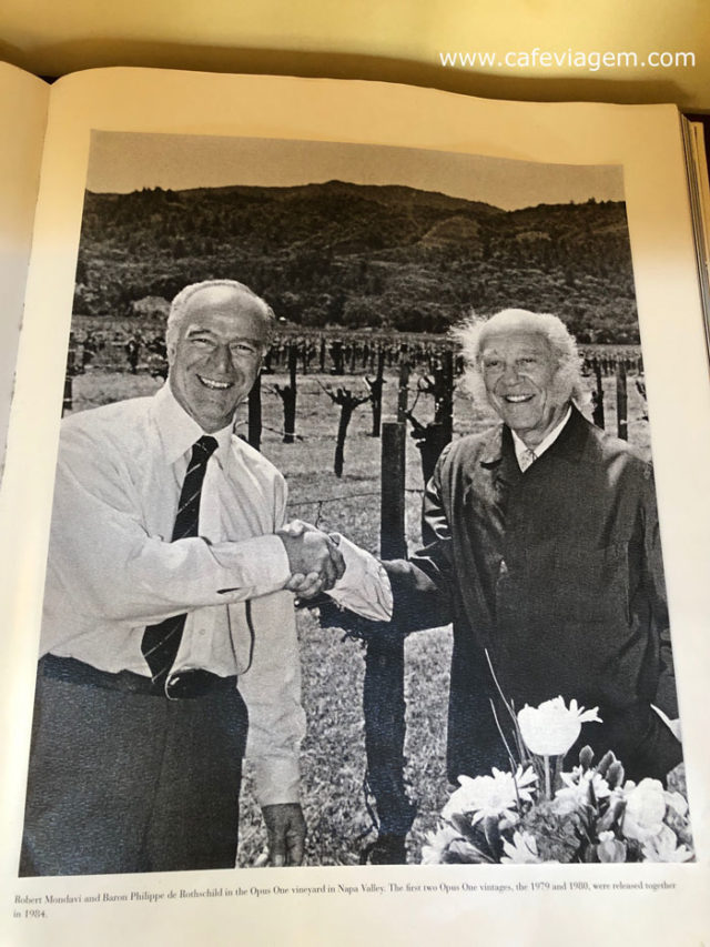 Opus One Mondavi e Rothschild