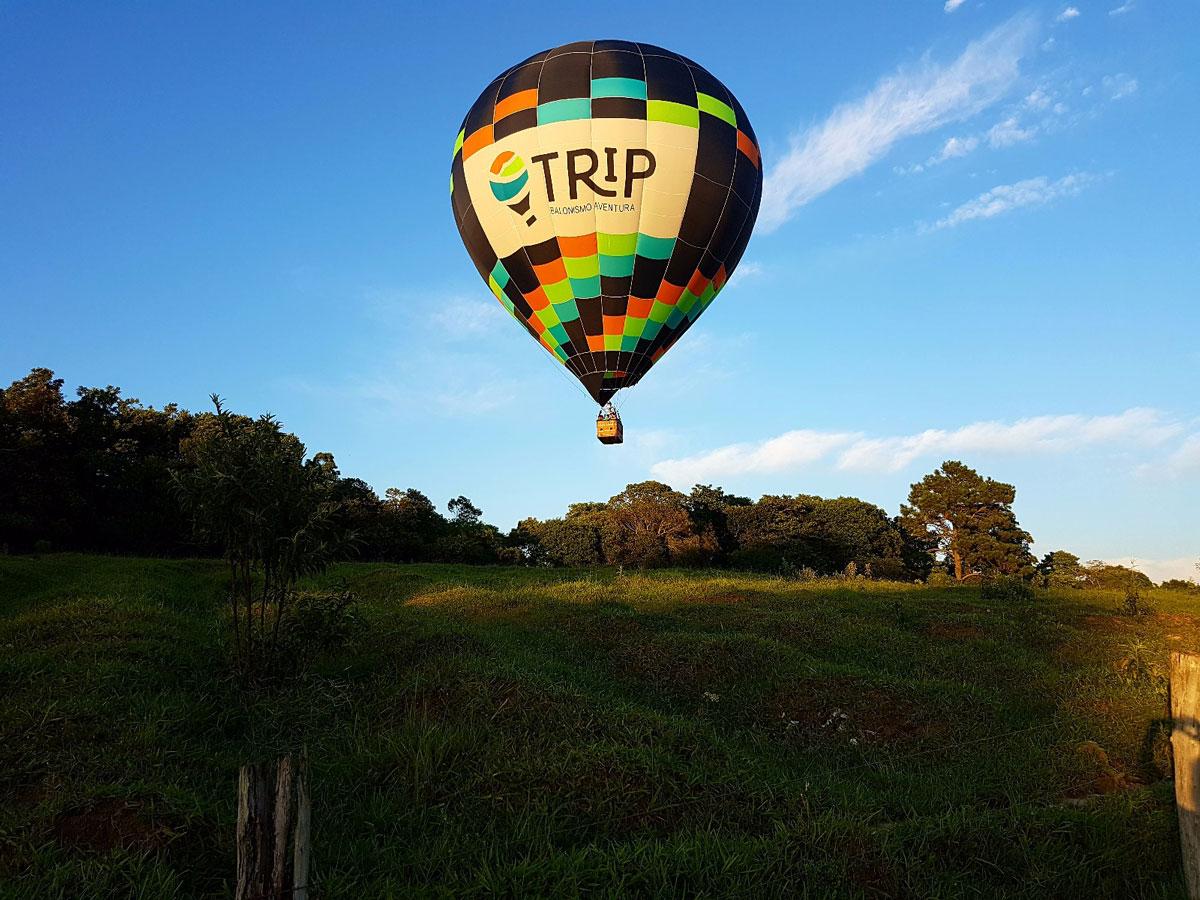 voo de balão no Vale dos Vinhedos