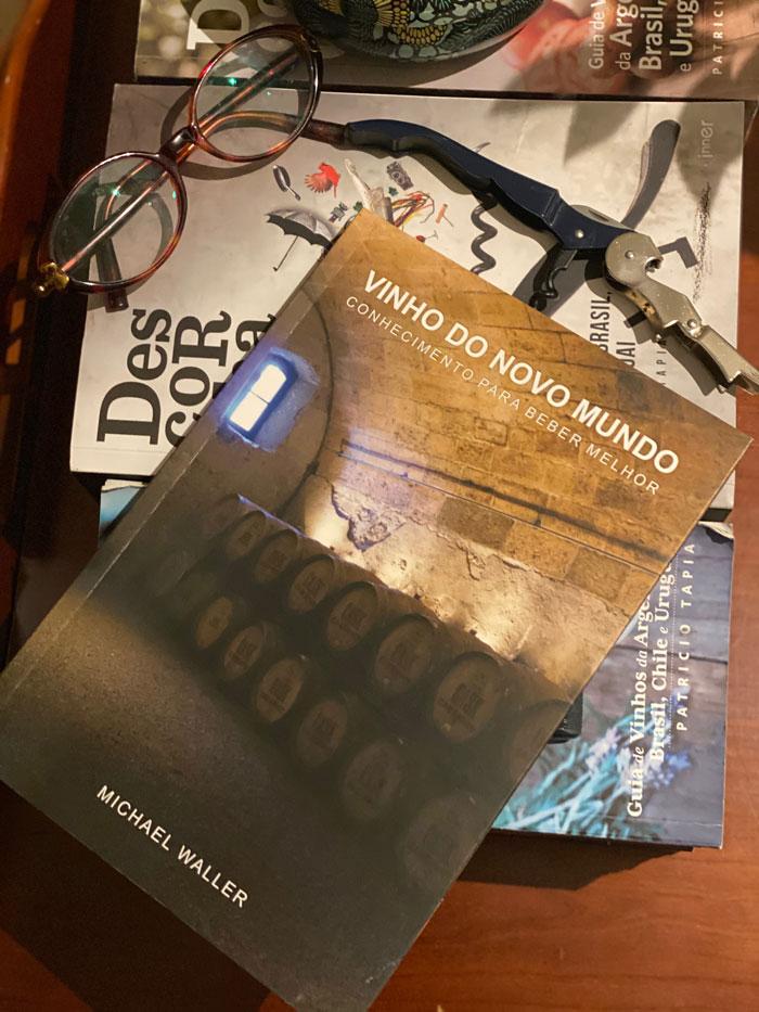 livro Vinho do Novo Mundo