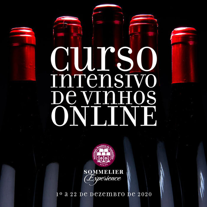 curso de vinhos on-line ABS